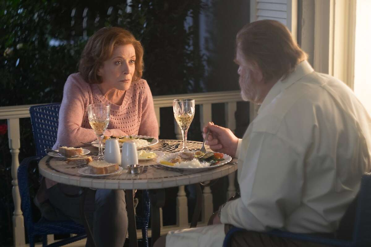 Holland Taylor is the neighbor who tries to bring retired detective Bill Hodges out of his self-imposed darkness in Stephen King-inspired thriller 'Mr. Mercedes' on the AT& Audience Network.
