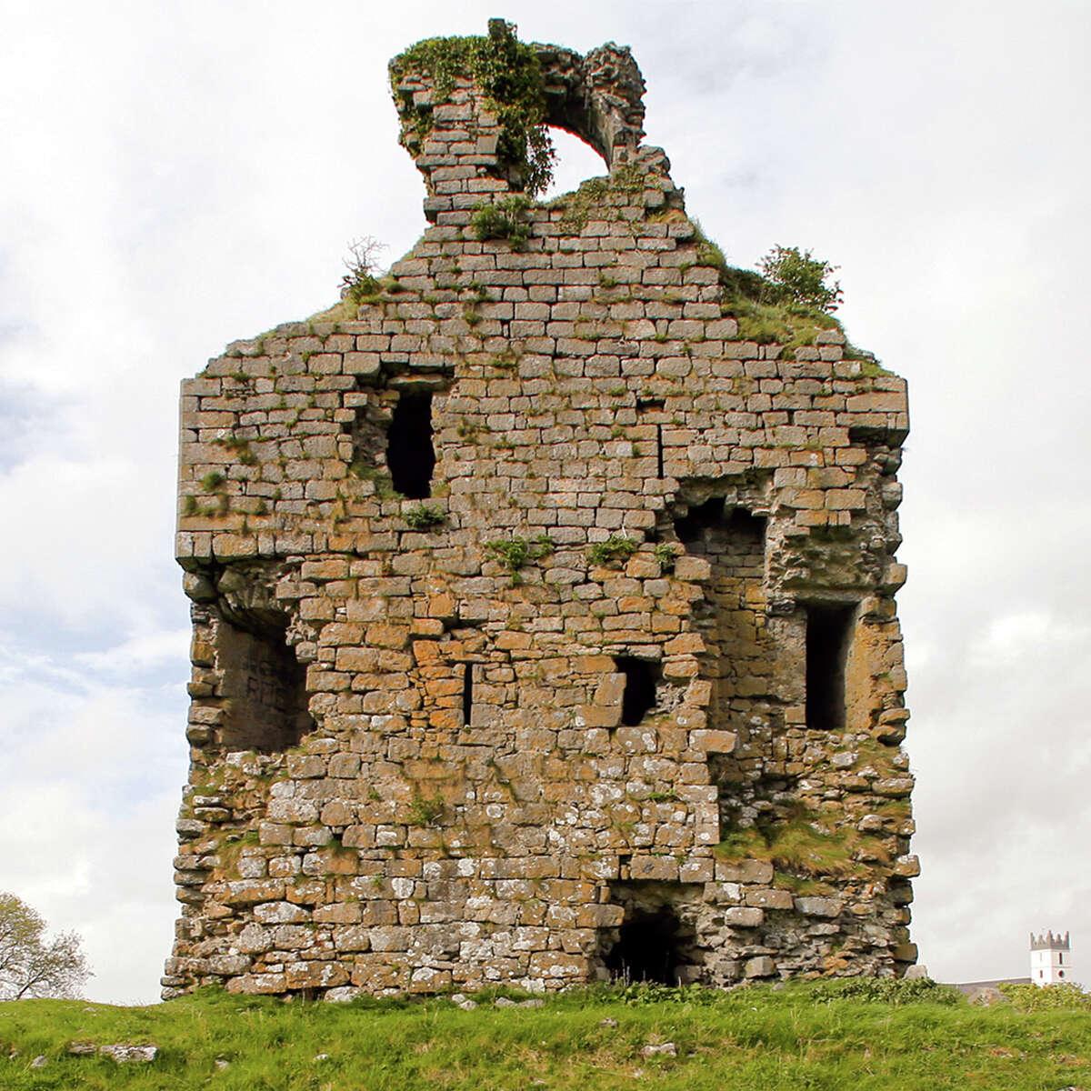 Corofin Castle now belongs to Houstonian Paul Roberts, who jokes that he needs to address 500 years of deferred maintenance.