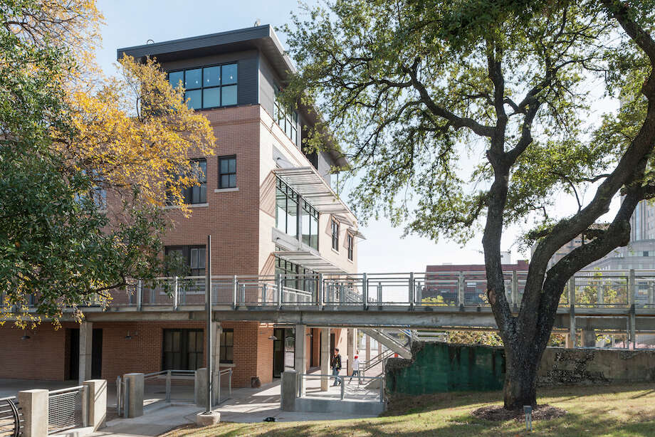 The renovated Sunset Coffee Building could become a point of pilgrimage for Houstonians. Photo: Paul Hester