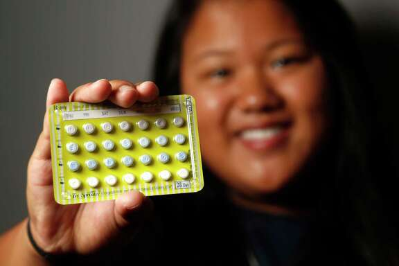 Barbara Boonnark, 18, got her new birth control pills online recently as she prepares to head to college at the University of Texas-San Antonio. She got her pills from Nurx, which can dispense and prescribe by way of computer or app.