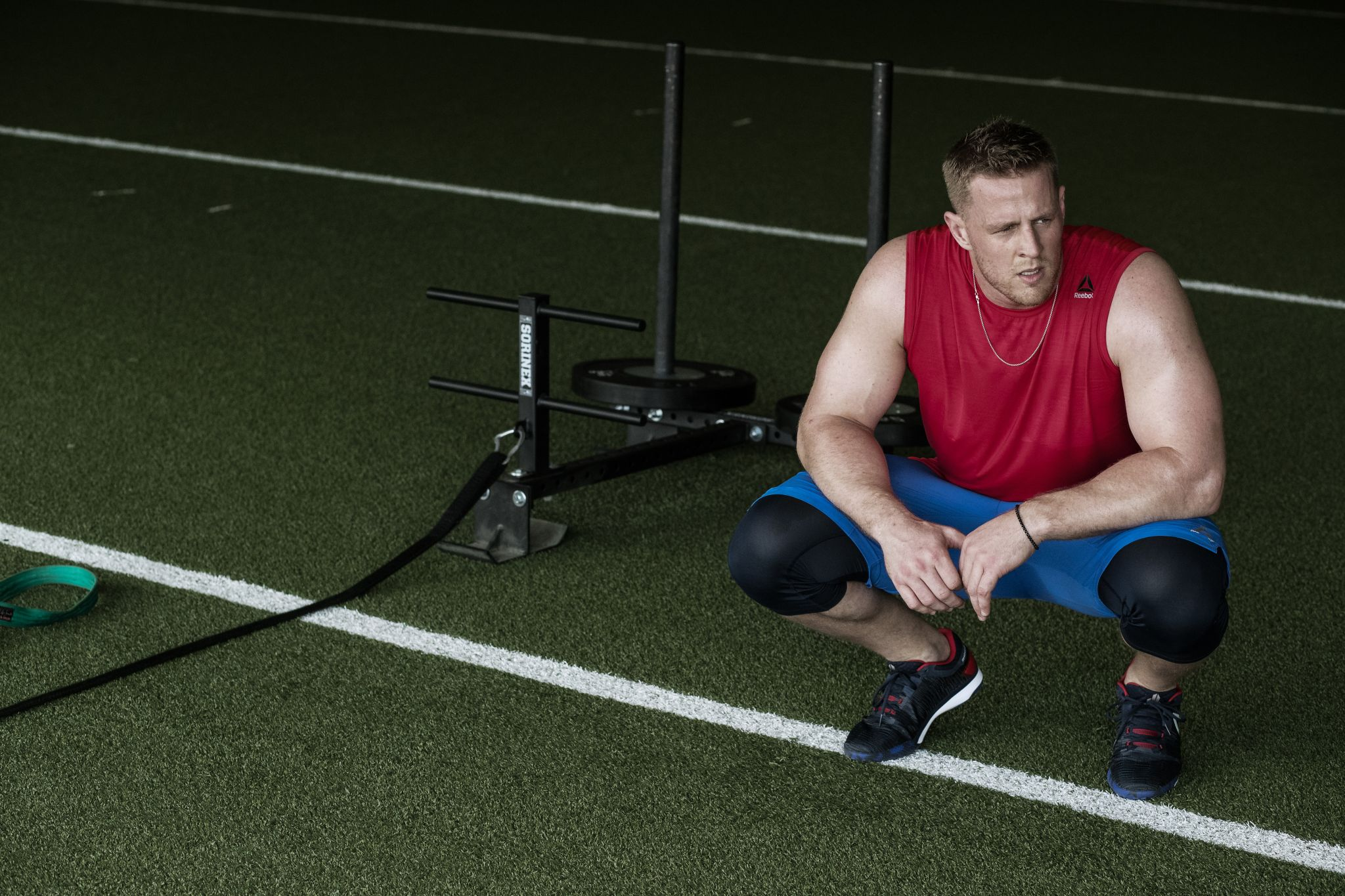Reebok releases new colorway of J.J. Watt s shoes - Houston Chronicle 390d66a50