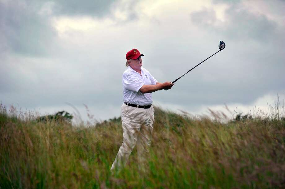 Trump's calendar is generally clear when he's at Mar-a-Lago (or at his club in Bedminster, New Jersey), with time instead reserved for playing golf.