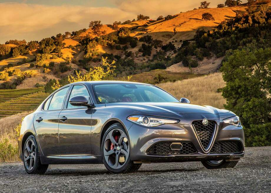 The 2017 Alfa Romeo Giulia sedan has a starting price of $37,995 (plus $995 freight) and ranges as high as $72,000. Photo: Alfa Romeo