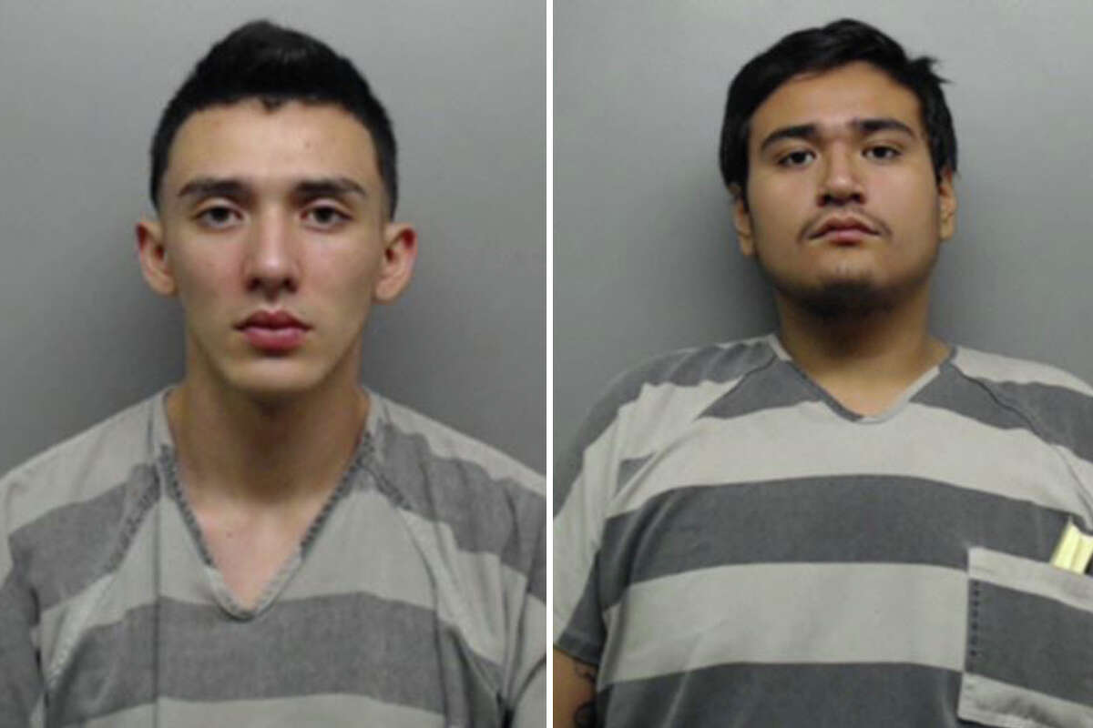 Bryan Bouquet and Hugo Fabian Martell, 18, were charged Sunday with discharging a firearm within a certain municipality. Both were released on bond Monday.