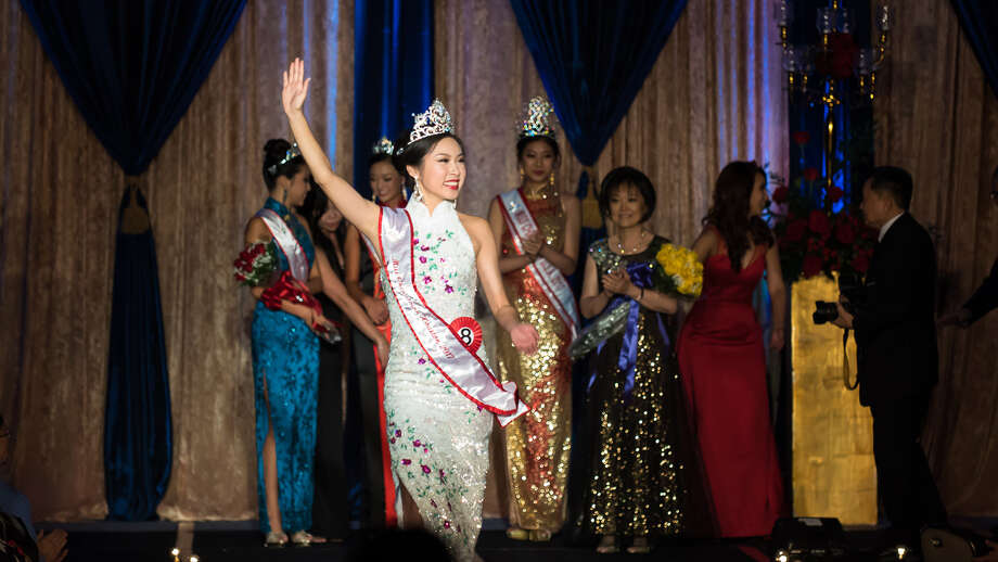 Janet Chen was crowned the new Miss Chinatown Houston at the 47th Annual Scholarship Pageant at the Royal Sonesta Hotel.  Photo:  Alvin Gee Photography