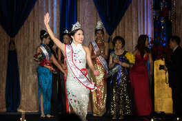 The 47 th  Annual Miss Chinatown Houston Scholarship Pageant at the Royal Sonesta Hotel.