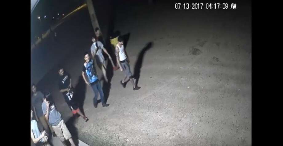 Laredo police said they need to identify the people in this group in connection with a vandalism case at Slaughter Park. Photo: Laredo Police Department