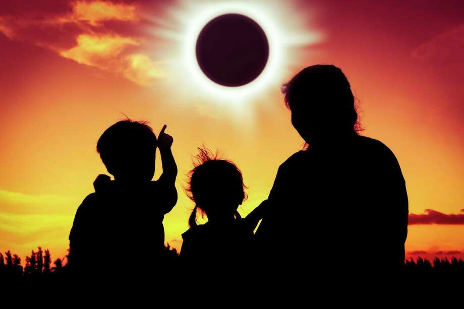 "Stepping Stones Museum will present an Astronomy Week for children that kicks off on Monday, Aug. 14, and concludes with the ""Great American Eclipse"" celebration on Monday, Aug. 21. Photo: Stepping Stones Museum / Contributed Photo"