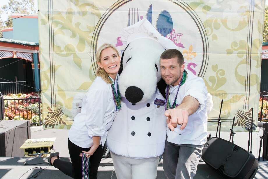 Kelsey Henderson and Adam Glick attend Great America: Taste of Orleans Cooking Demonstration with Chefs Adam Glick and Kelsey Henderson on July 29th 2017 at Great America in Santa Clara, CA Photo: Drew Altizer Photography/Photo - Drew Altizer