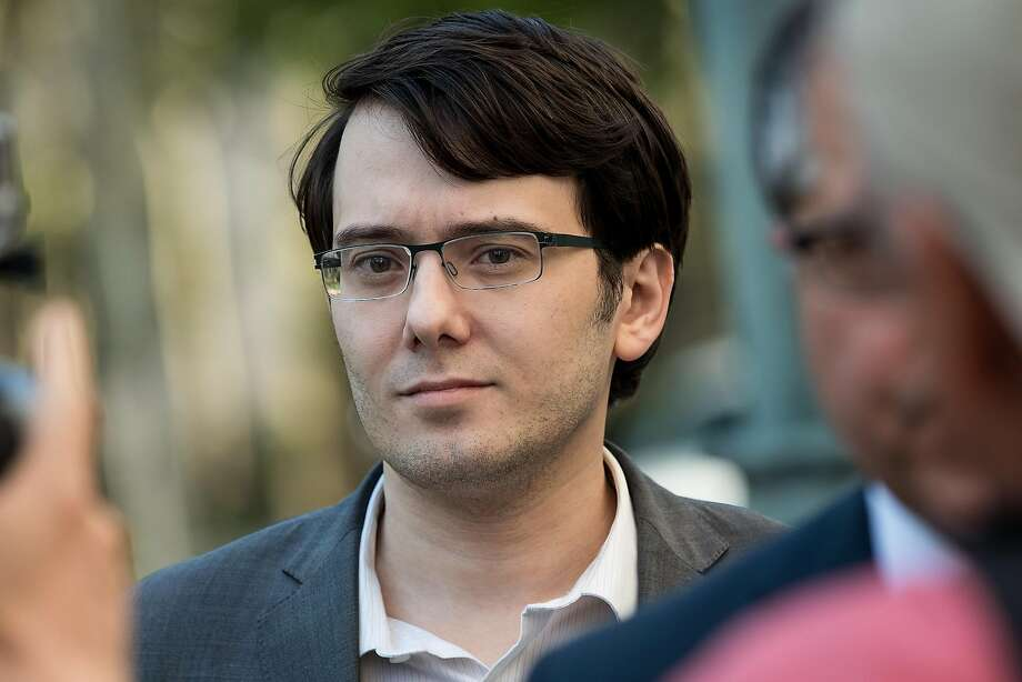 Martin Shkreli faces up to 20 years in prison for the three counts. Photo: Drew Angerer, Getty Images
