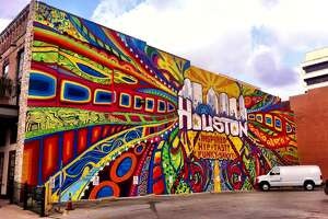 Insight - GONZO247's graffiti mural is a prominent feature of Houston's ur