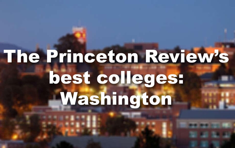 The Princeton Review just released its 382 best colleges in America for 2018. See which Washington schools made the cut, as well as the additional accolades they garnered. Photo: File