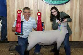 Thursday night featured the market goat show, and Friday the Junior Livestock Association had its sale at the Huron Community Fair.