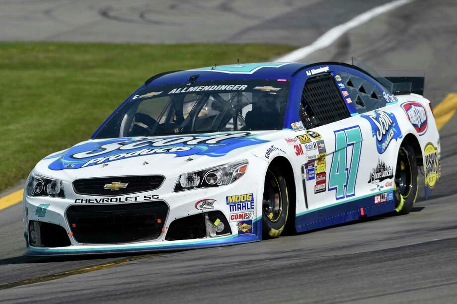 FILE- In this Aug. 10, 2014 file photo, AJ Allmendinger (47) drives during a NASCAR Sprint Cup Series auto race at Watkins Glen International in Watkins Glen N.Y. Allmendinger, who won the race in 2014, returns to Watkins Glen on Sunday, Aug. 6, where he can use a win to qualify for NASCAR's postseason. (AP Photo/Derik Hamilton) Photo: Derik Hamilton, FRE / FR170553 AP