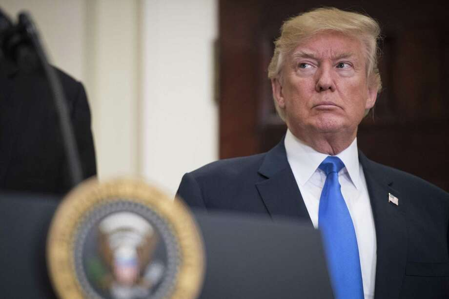 President Trump had perhaps his worst week last week, but democracy pushed back on five separate issues from transgender troops to police brutality. Photo: THE WASHINGTON POST /The Washington Post / The Washington Post