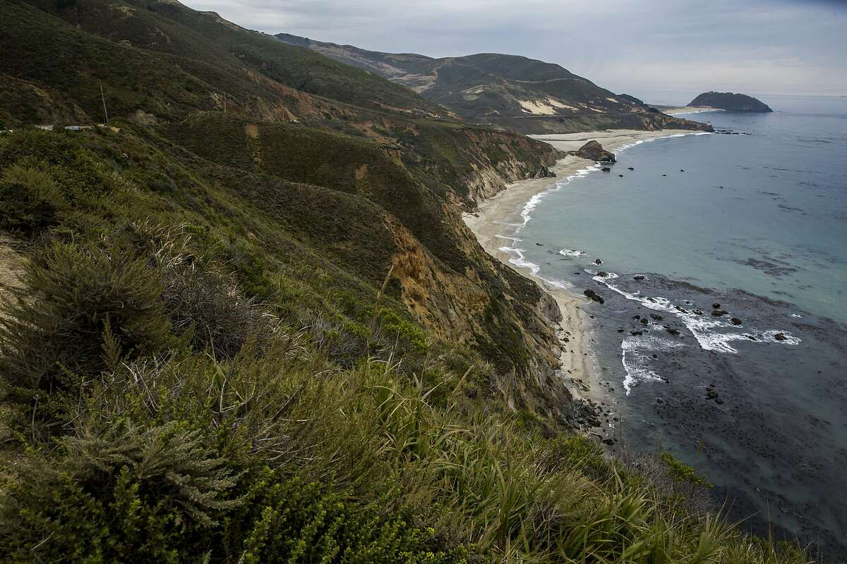 The coast near Highway 1 on Thursday, Aug. 3, 2017, in Big Sur, Calif.