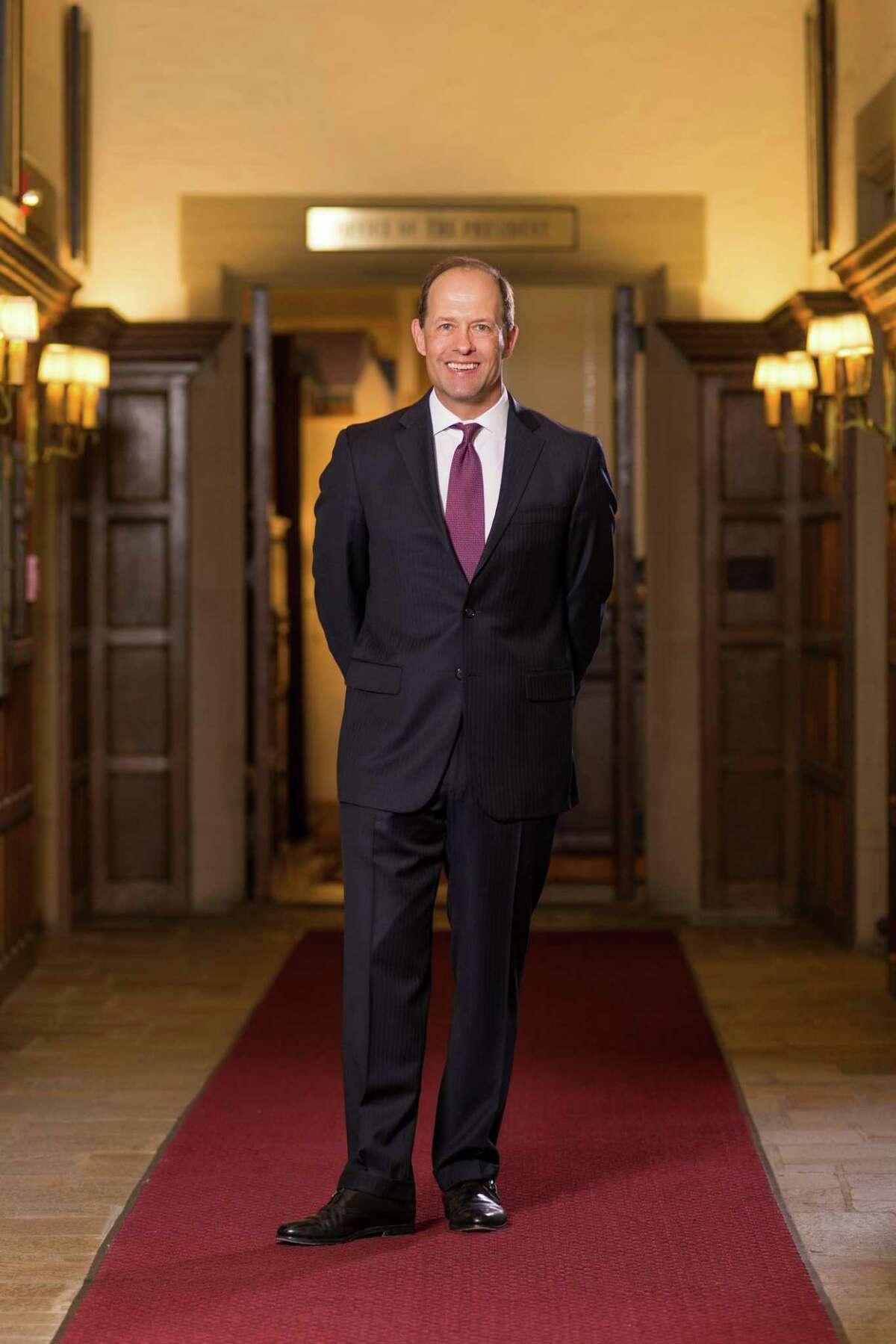 Mark R. Nemec, president of Fairfield University