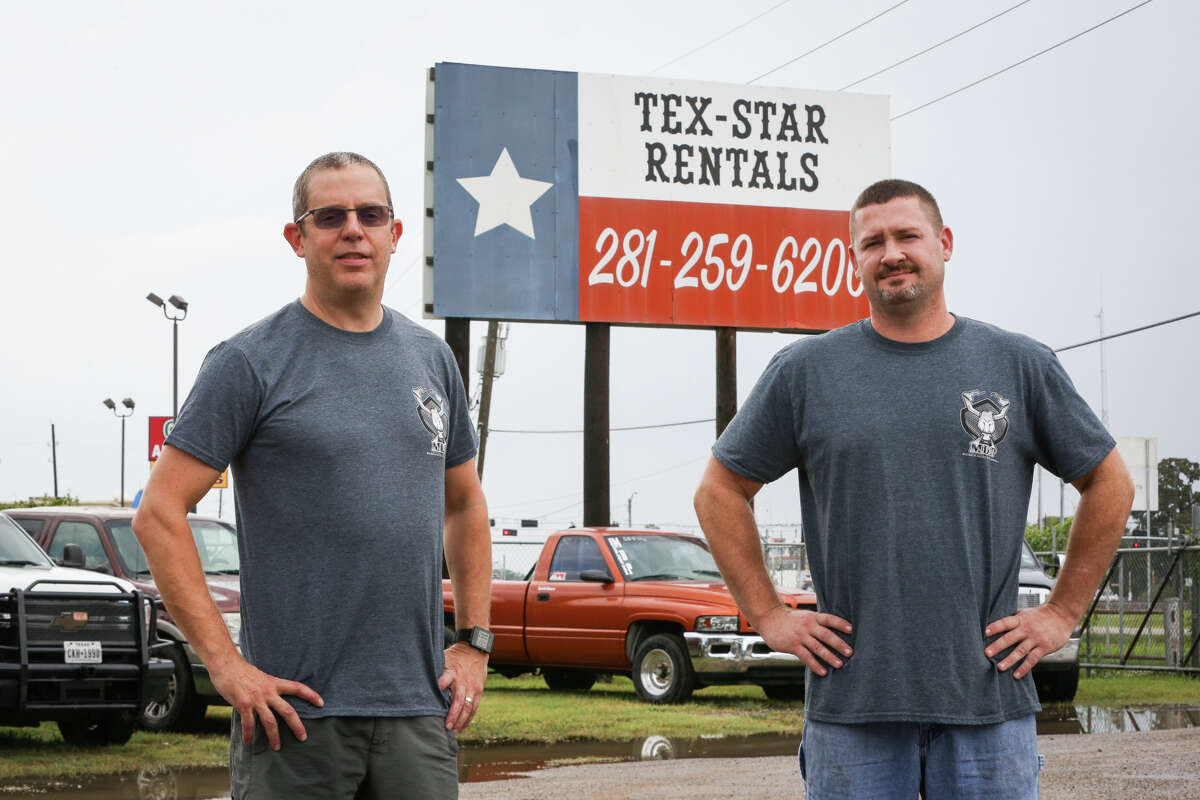 Magnolia Diesel Performance owners Chris Blair, right, and Charles