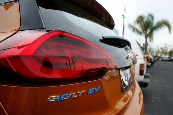 2of3owners Of The New Chevrolet Bolt Ev All Electric Car Would Benefit From Rebates Proposed Under California Legislation Photo Paul Chinn Chronicle