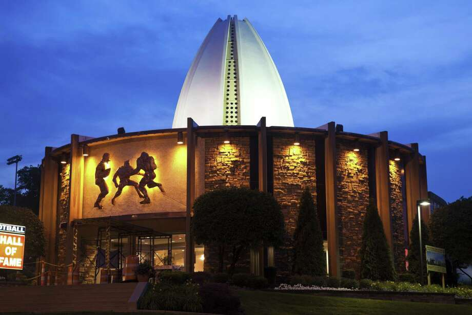 The 2017 football Hall of Fame enshrinment is slated for Saturday evening. Photo: Handout, HO / Dreamstime