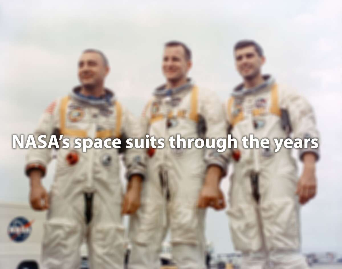 Click through to see the evolution of NASA's space suits
