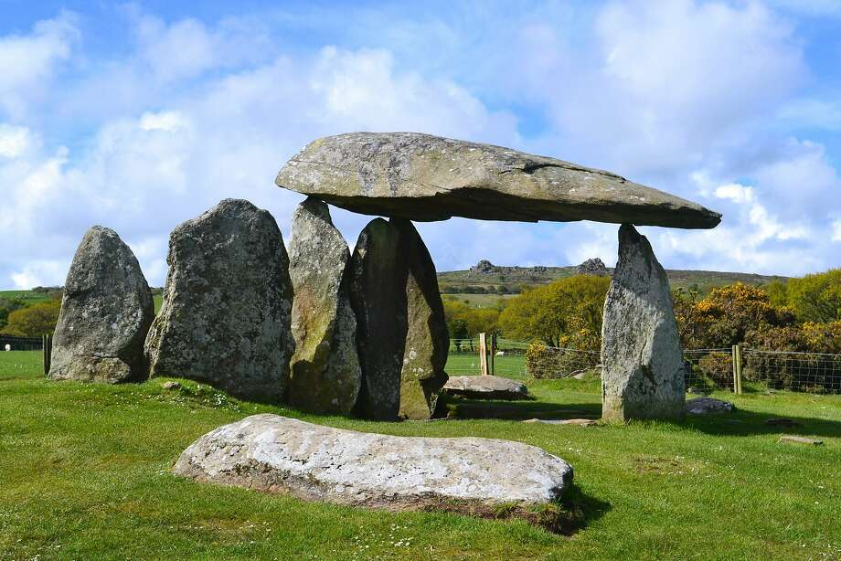 The stones at Pentre Ifan look line a mini Stonehenge, but are believed to be part of a neolithic burial chamber. Photo: Visit Pembrokeshire