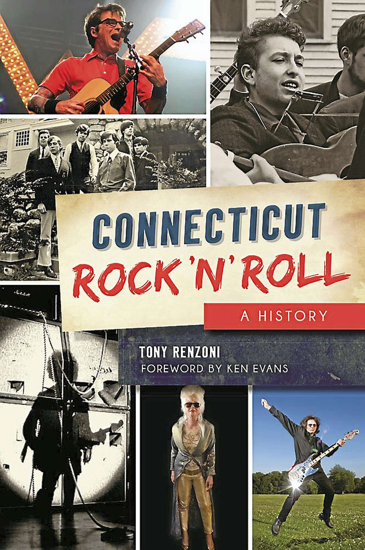 The jacket cover for Connecticut Rock 'N' Roll
