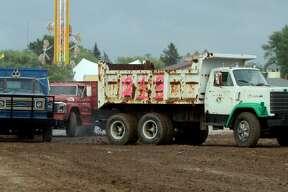 Huron Community Fair — Redneck Truck Races 2017