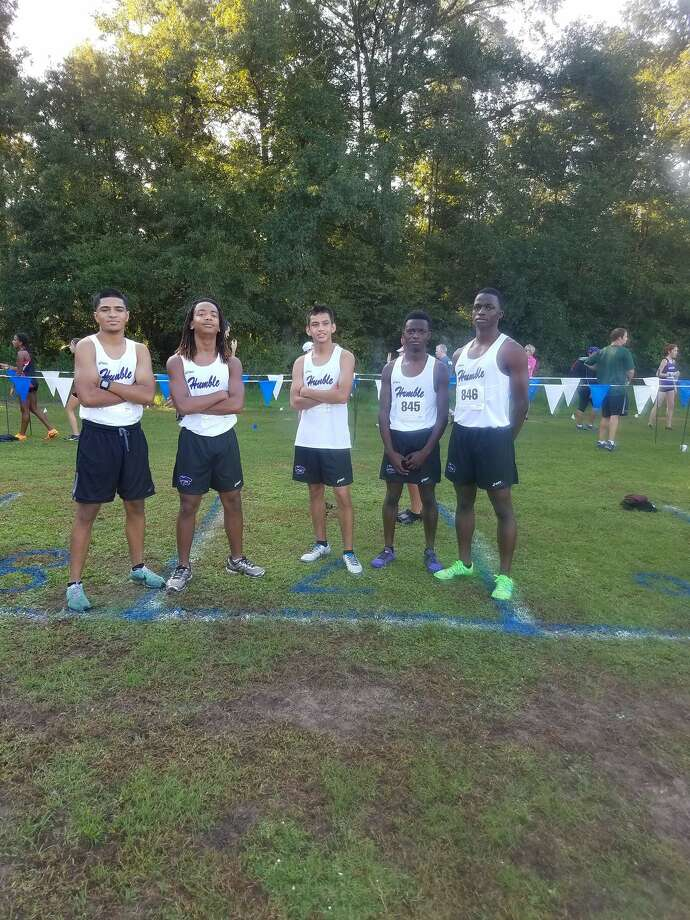 A group of boys from last year's Humble boys cross country team from their twit Photo: Humble Cross Country And Track Twitter Account