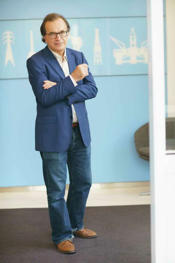 Scholar Antoine Halff, photographed in New York.  (Ruthie Abel / For the Chronicle) Photo: Ruthie Abel / ruthie abel