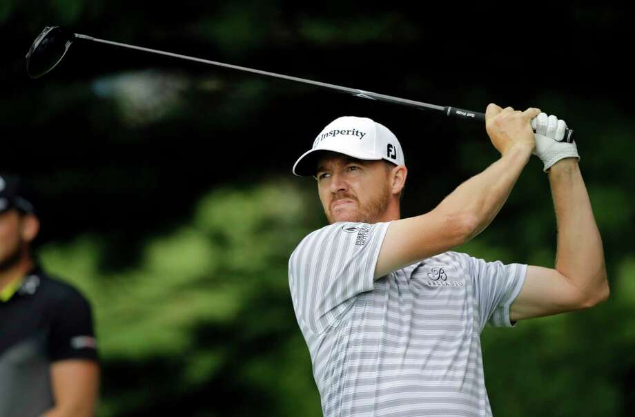 Jimmy Walker tees off on the second hole during the second round of the Bridgestone Invitational golf tournament at Firestone Country Club, Friday, Aug. 4, 2017, in Akron, Ohio. (AP Photo/Tony Dejak) ORG XMIT: OHTD105 Photo: Tony Dejak / Copyright 2017 The Associated Press. All rights reserved.