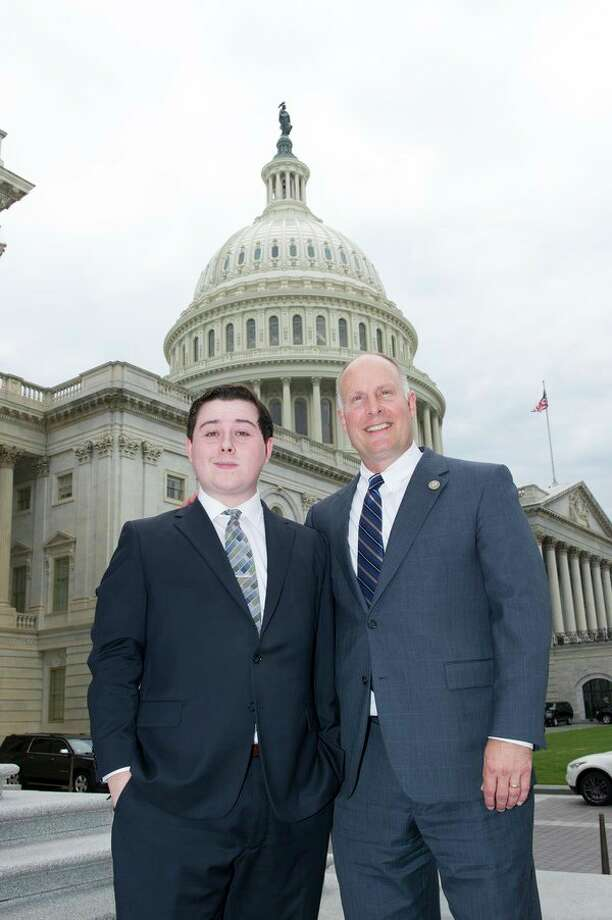 Midland High graduate Conner McGuire recently completed an internship in the office of U.S. Rep. John Moolenaar's office from May through June. McGuire will be returning to Central Michigan University in the fall.