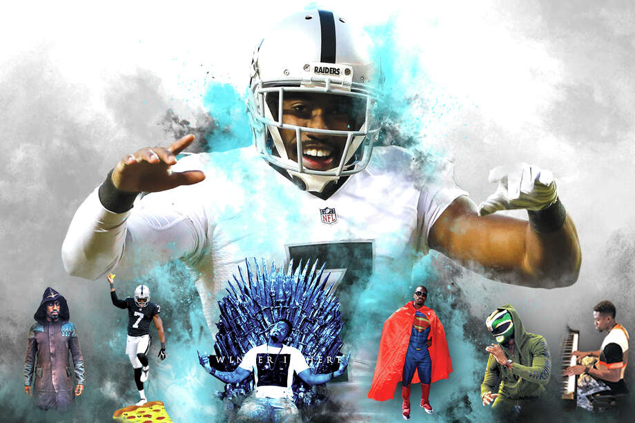 Oakland Raiders punter Marquette King Photo: Illustration By Tam Duong Jr., The Chronicle