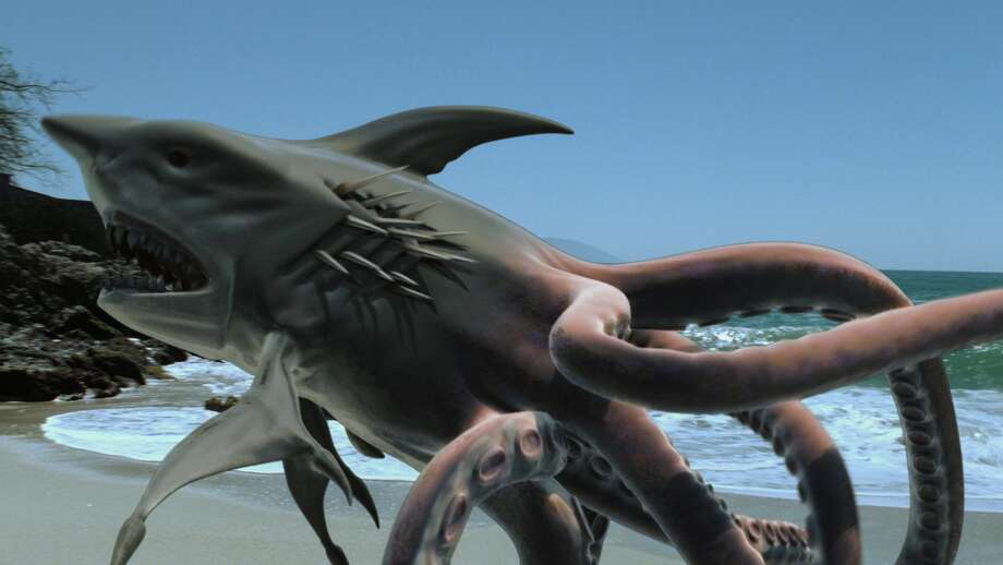 "Sharktopus (2010)""A half-shark, half-octopus creature created for the military creates a whole lot of terror in Mexico while a scientist who helped create it tries to capture/kill it."" Photo: Syfy"