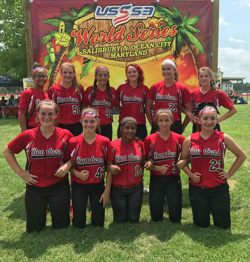 The Electric City Bombers 14-under travel softball team