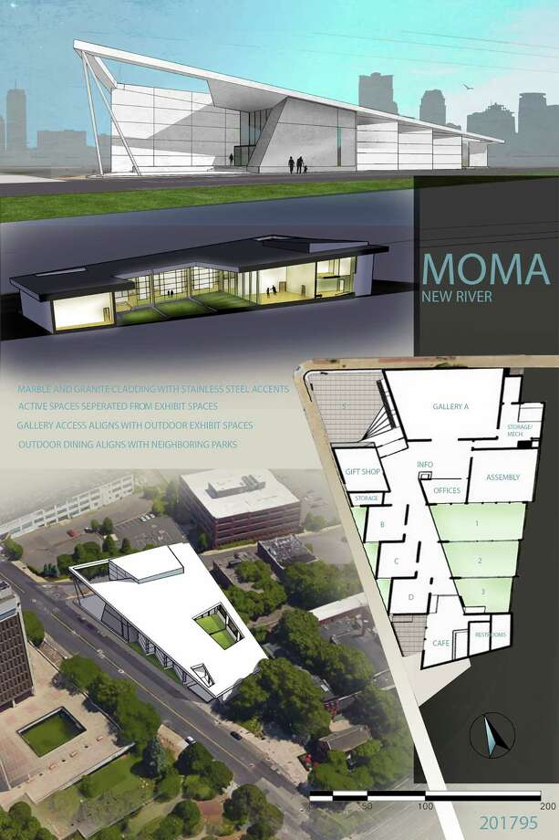 Hudson Valley Community College students Hajdi (Heidi) Sinani and Charles Tryon competed in a national competition sponsored by The Coalition of Community College Architecture Programs. About 200 applications were submitted for the Design Competition 2017 which was a 20,000-square foot museum design. Tryon finished second in the country and Sinani finished first honor, according to their professor Christopher K. Dennis. Here?s a little of the description on the design shown: ?New River MoMA is a contemporary art museum located in an urban setting, designed to allow patrons to flow through gallery spaces easily and to control the presentation of art work. Utilizing a centralized courtyard and roof openings; indoor exhibit space is married to outdoor exhibit space. Defining uses into categories ?exhibit? or ?active? determined where they would be placed in the building to control the environment of the galleries.?