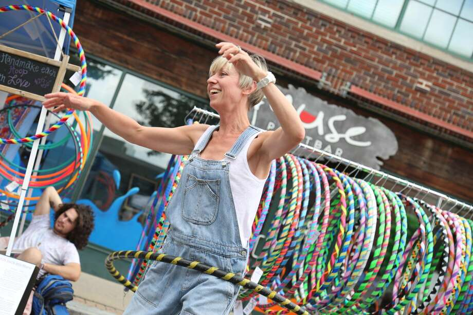 "The annual SoNo Arts Festival was held in the South Norwalk historic district on August 5 and 6, 2017. The theme this year was ""animals of the jungle world and the world of the imagination.""Festival  goers enjoyed The Puppet Parade and family-friendly activities. Were you SEEN? Photo: Derek T. Sterling/Hearst CT Media"