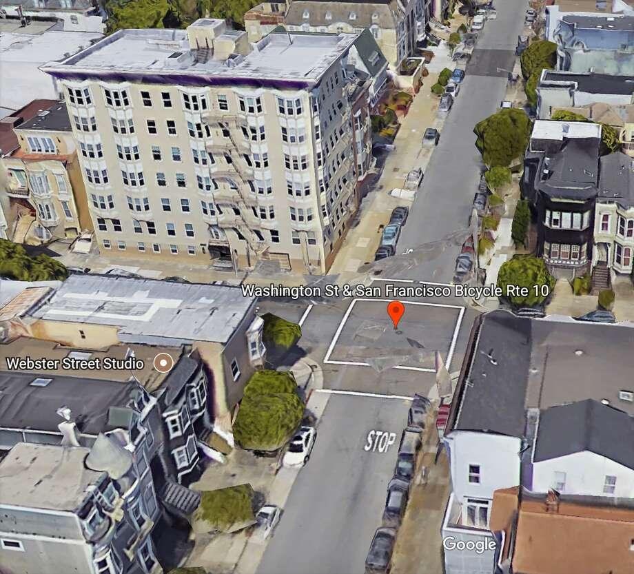 The intersection via Google Earth. Photo: Google Earth