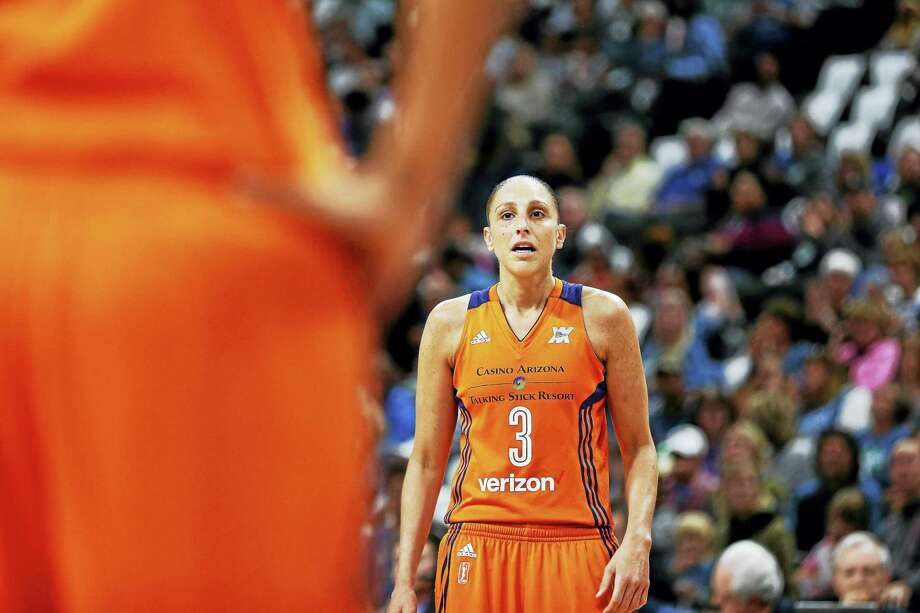 Phoenix Mercury guard and former UConn star Diana Taurasi. Photo: The Associated Press File Photo / FR170489 AP