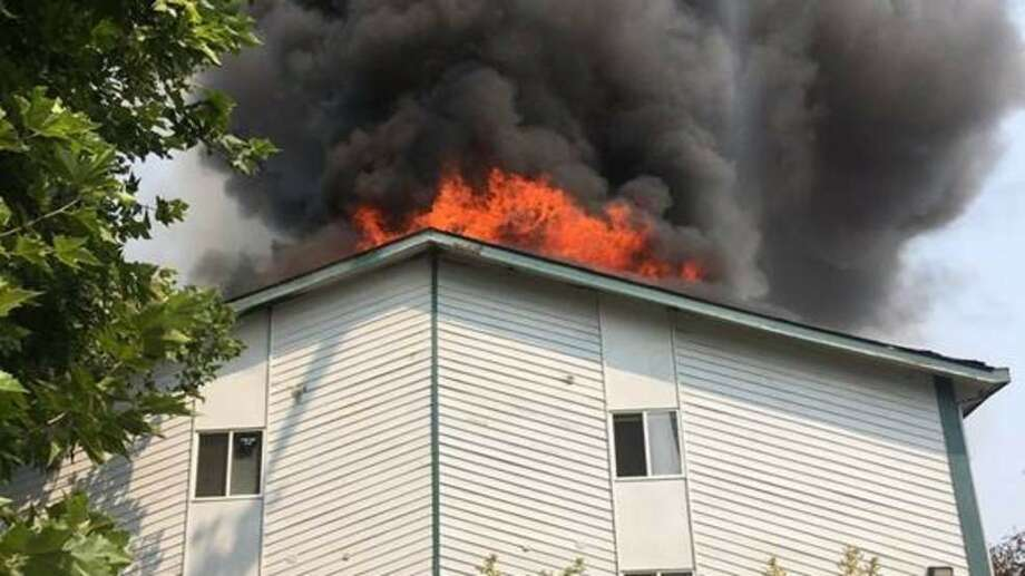 3 Alarm Blaze Rips Through Northgate Apartments