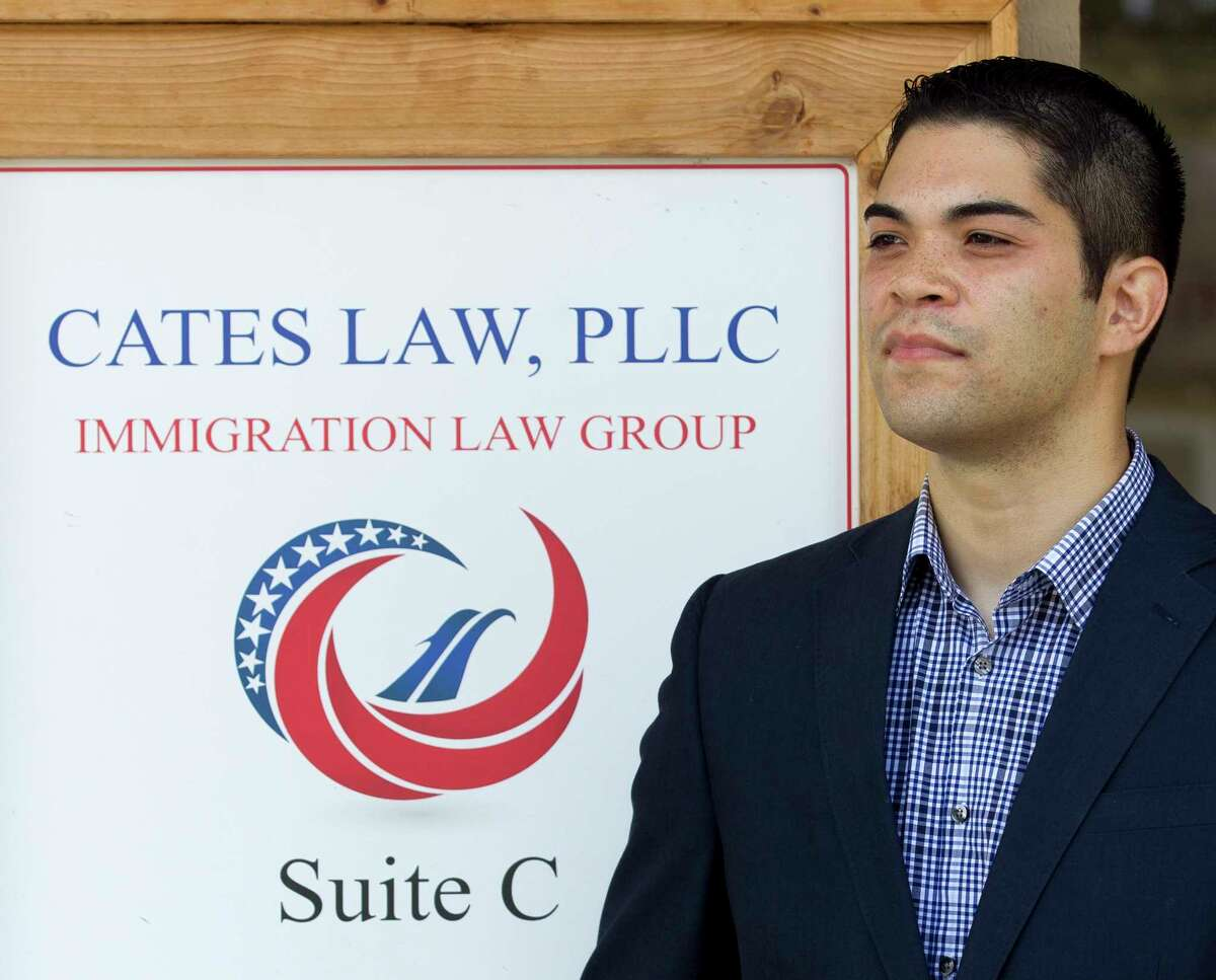 Robert Cates runs an immigration law group in Conroe and opposes the proposed RAISE Act, also known as Reforming American Immigration for Strong Employment Act, Friday, Aug. 4, 2017, in Conroe. The bill would dramatically refuce legal immigration in the United States.
