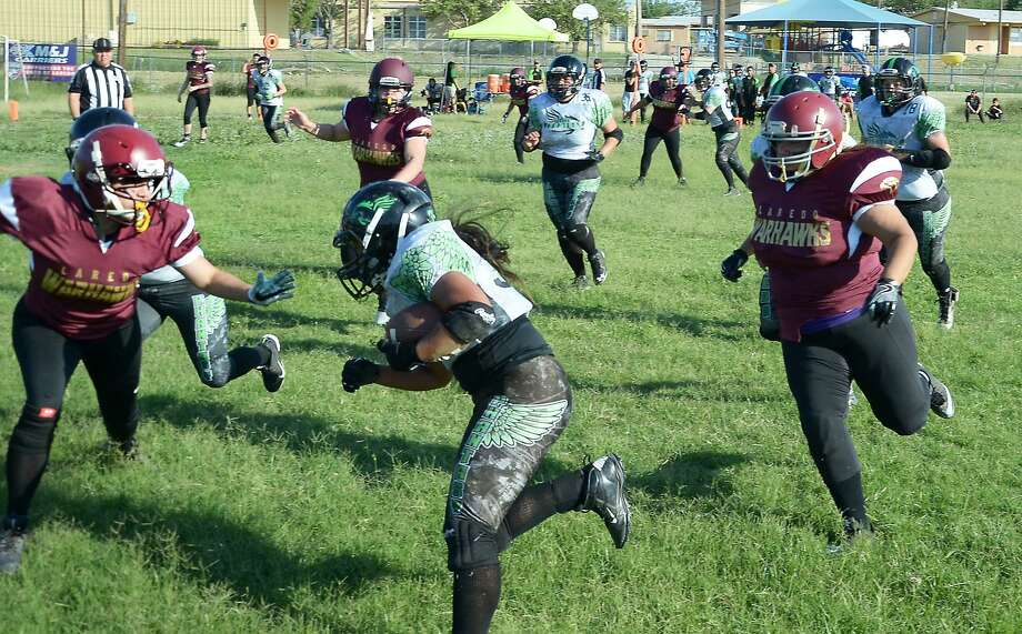 Women's football is gaining popularity all over South Texas as new expansion teams and new leagues sprout up every couple of years. Photo: Cuate Santos /Laredo Morning Times File / Laredo Morning Times