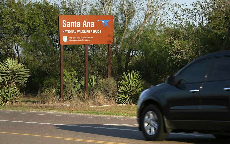 The Santa Ana National Wildlife Refuge is near Alamo, in the Rio Grande Valley. Engineers have taken soil samples on the levee in the area in preparation for construction of the proposed border wall. Photo: Bob Owen, Staff / ©2017 San Antonio Express-News