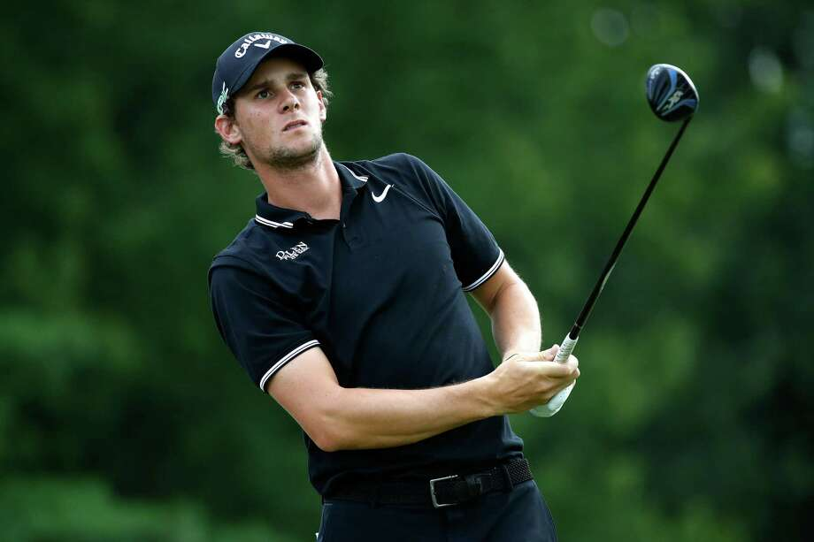 AKRON, OH - AUGUST 05:  Thomas Pieters of Belgium hits off the eighth tee during the third round of the World Golf Championships - Bridgestone Invitational at Firestone Country Club South Course on August 5, 2017 in Akron, Ohio.  (Photo by Gregory Shamus/Getty Images) ORG XMIT: 686978833 Photo: Gregory Shamus / 2017 Getty Images