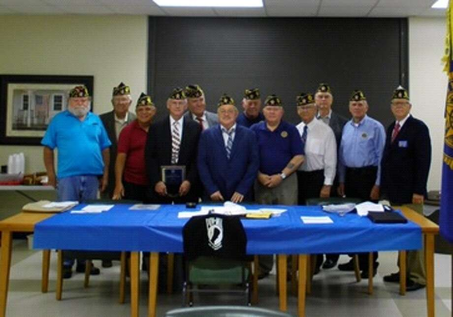 Members of the American Legion Dayton Memorial Post 512 picked new officers. The group includes (left to right) Otis Clark, Mike Ripkowski, Walter P. Fontenot, Mike Key, Ron Heinen, Wade Rainey, Bobby Neal, Jerry Killion, Lee Krigar, Ken Coleman, Wilbert Winkelmann and  Mark McClelland. Not pictured are Jim Sterling and Jaymie Tate. Photo: Submitted