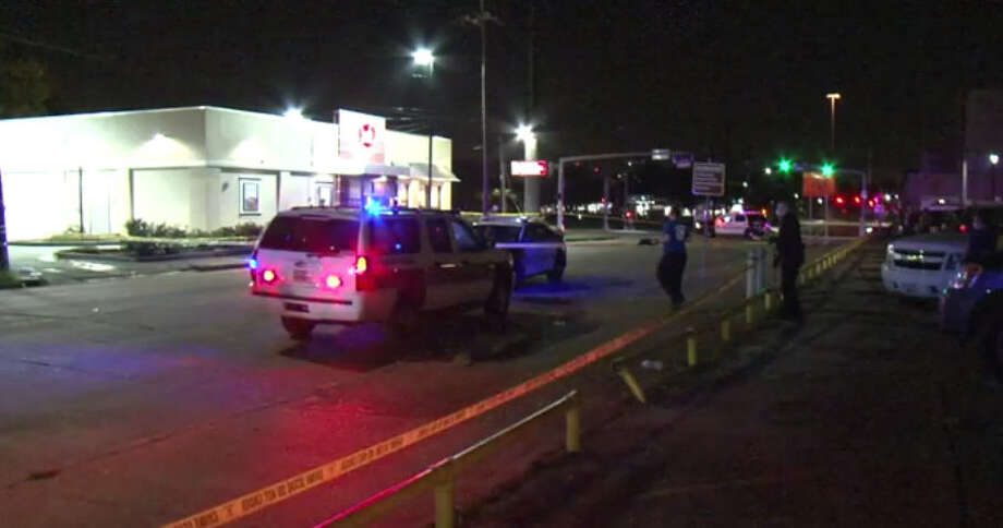 A man was shot to death Saturday night in midtown. Photo: Metro Video