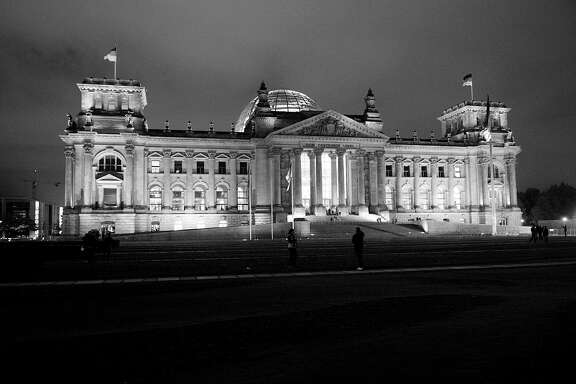 The historic German Reichstag.