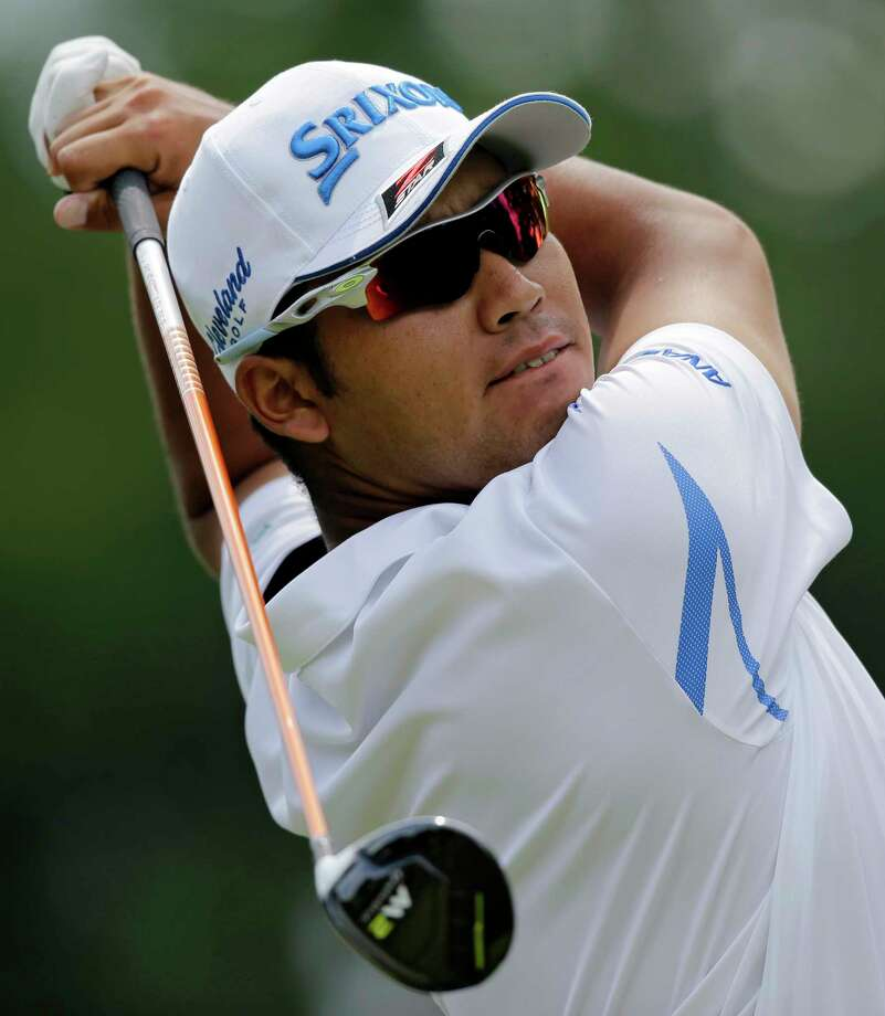 Hideki Matsuyama, from Japan, tees off on the third hole during the final round of the Bridgestone Invitational golf tournament at Firestone Country Club, Sunday, Aug. 6, 2017, in Akron, Ohio. (AP Photo/Tony Dejak) Photo: Tony Dejak, STF / Copyright 2017 The Associated Press. All rights reserved.