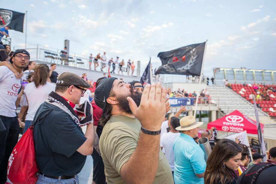 Fans jammed Toyota Field Saturday Aug. 5, 2017, to watch San Antonio FC take on Orange County SC. Alamo City soccer fans are coming to grips with the news that the MLS may ditch San Antonio for Austin. Photo: Kody Melton For MySA