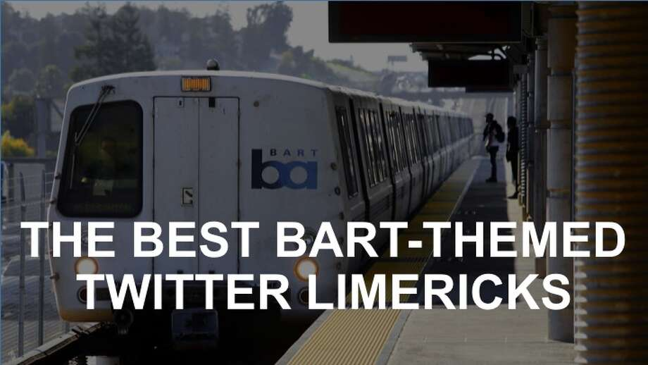 On Friday, August 4, 2017, the official BART Twitter account kicked off what became a spontaneous poetry contest. Click on to see some of the catchiest. Photo: Michael Macor/The Chronicle